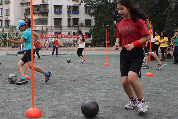 世青国际学校运动会