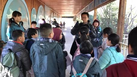 路边的自然------树人自然环保课堂麋鹿苑实践课