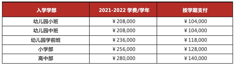 北京德闳学校申请费用和学费