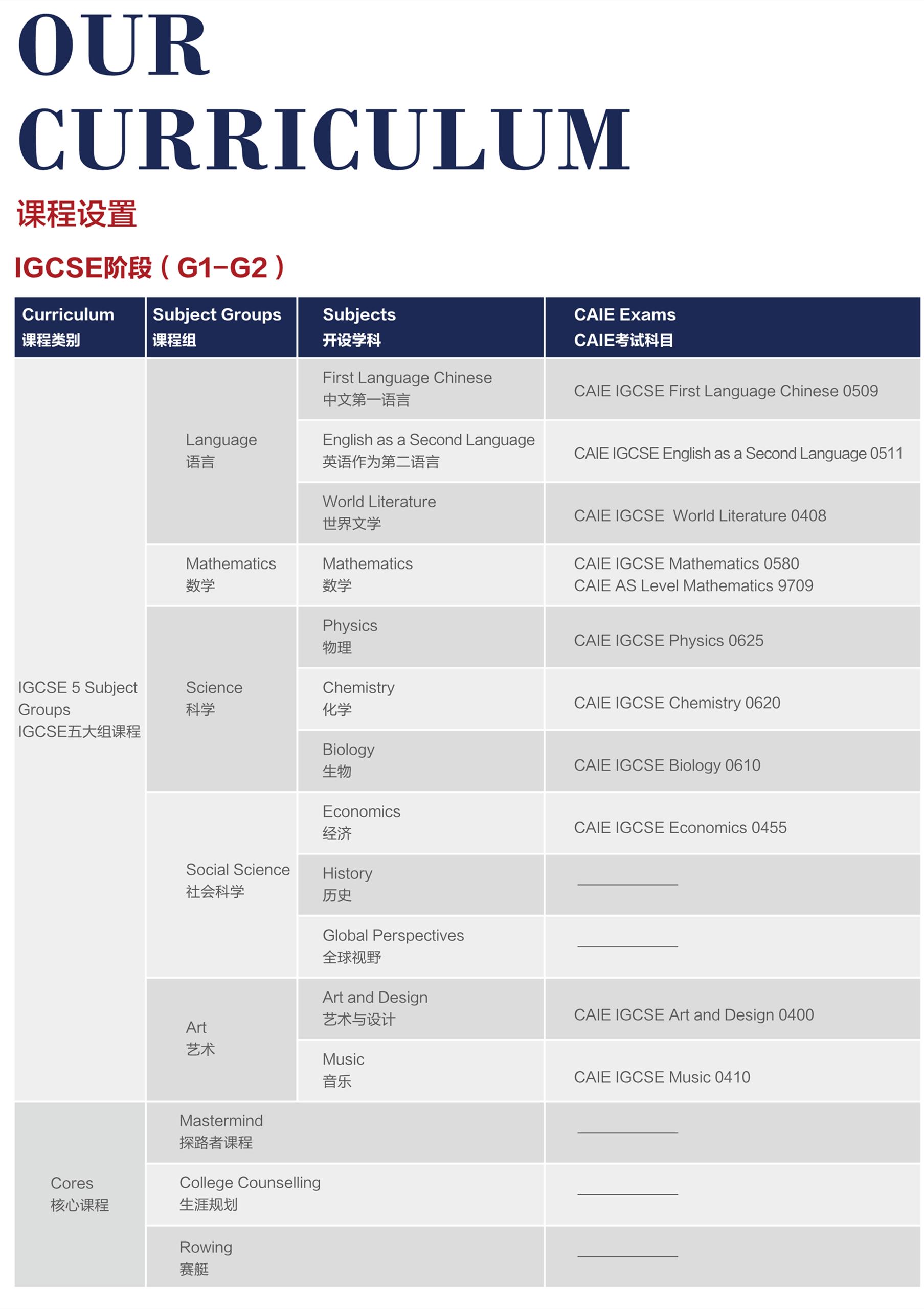 上海德英乐学院开设哪些课程?