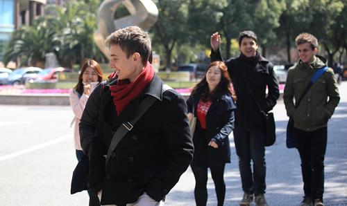 上外立泰A- Level国际课程中心学生