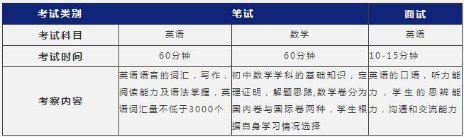 上海阿德科特学校2021年秋季招生简章
