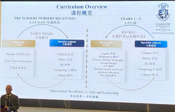 深圳哈罗国际学校主课堂和专题课程。