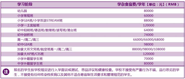 广州华美英语实验学校学费一年多少