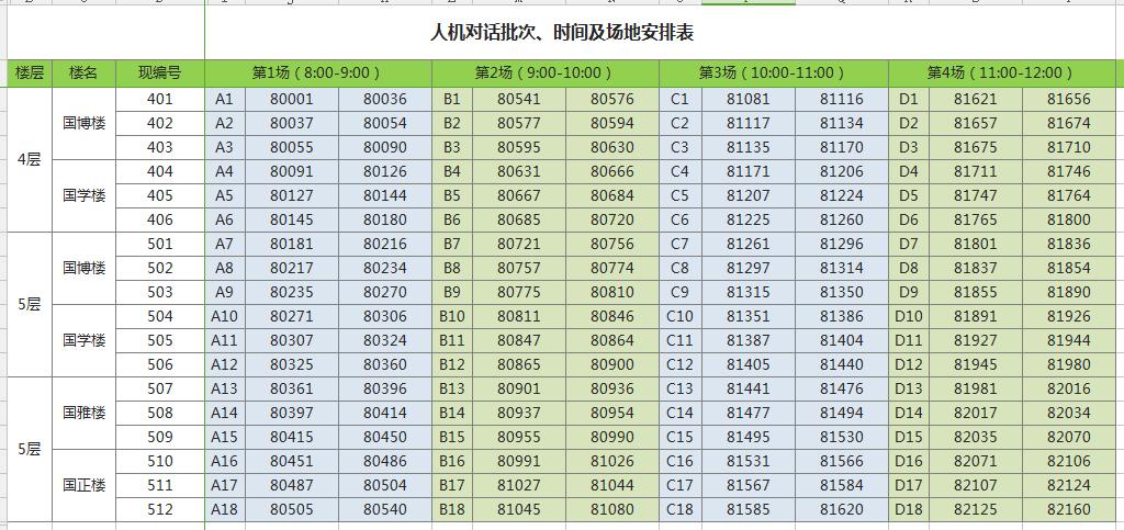 广州外国语学校2018年初中招生人机对话实施细则