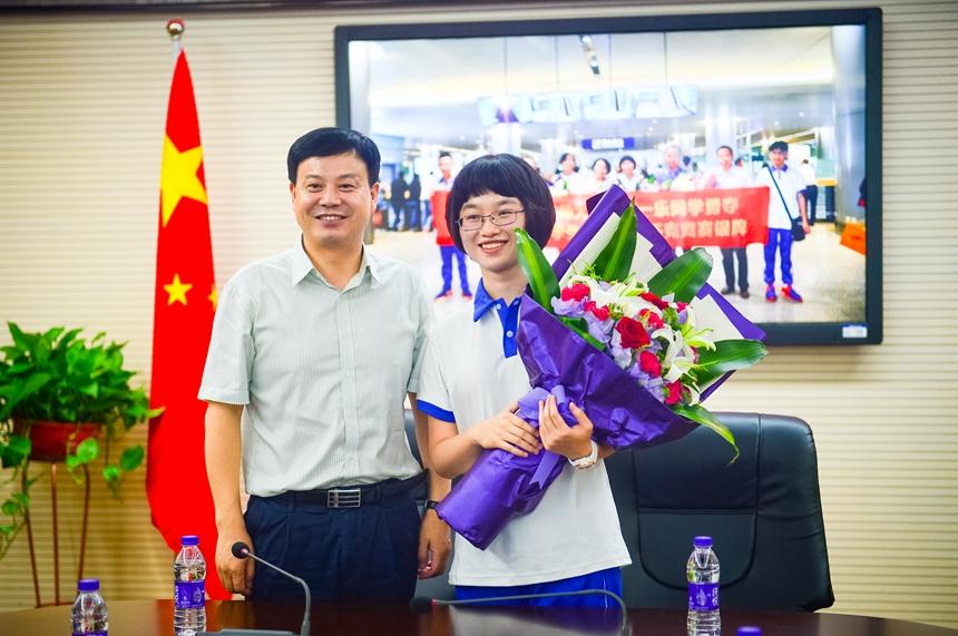 喜报:陈一乐同学荣获第49届国际中学生化学奥赛银牌