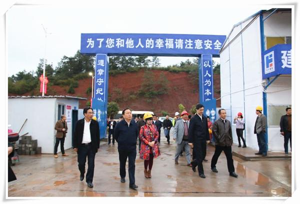 衡阳市委书记周农、市长周海兵调研天英学校建设项目