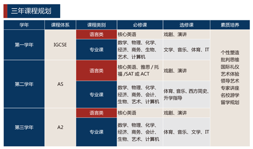 上海外国语大学立泰学院A-level国际课程中心国际班