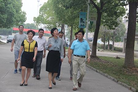 市委常委、宣传部长范庆瑜一行莅临我校开展教师节慰问