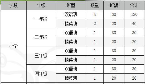 青苗国际双语学校威海校区招生计划