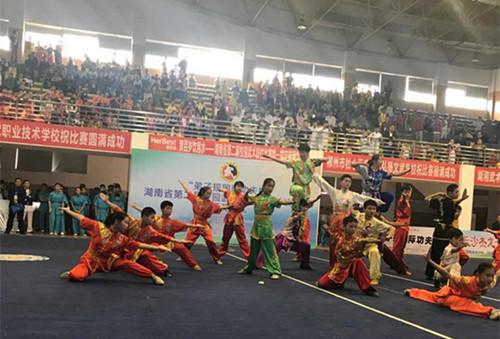 星辰在线:湖南省第二届校园武术段位比赛落幕 8万学子展风采