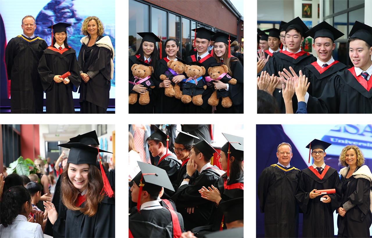 上海德威国际学校:热烈祝贺2018级毕业生