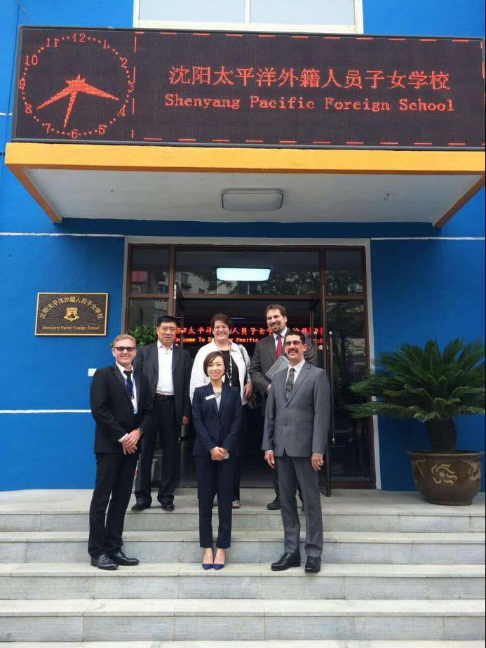 BMW驻沉阳区域代表莅临沉阳太平洋外籍人员子女学校参观