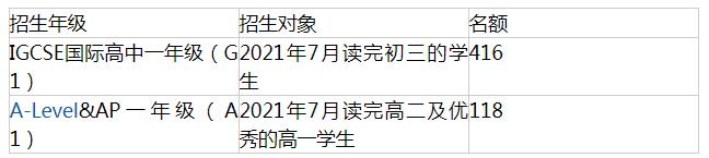 深圳国际交流学院入学条件