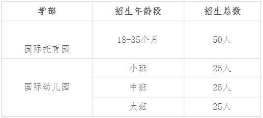 2021年苏州外国语学校吴中校区春季招生简章