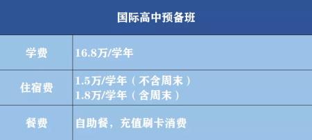 深圳中宏国际书院2021年学费多少?