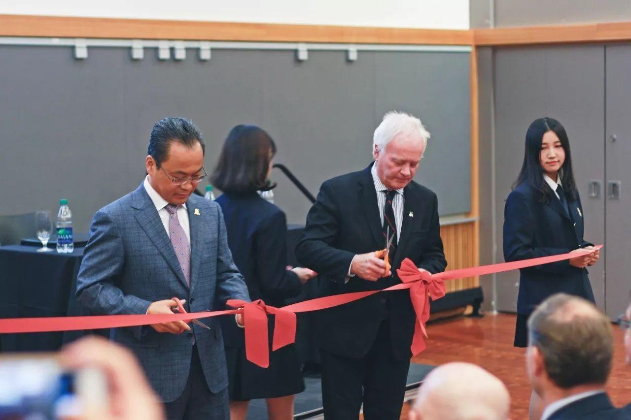 建设世界的枫叶 ——温哥华枫叶大学学校正式成立
