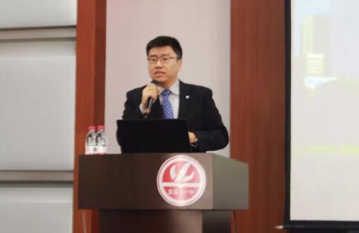 墨尔本大学招生官到访宜昌剑桥国际交流学校
