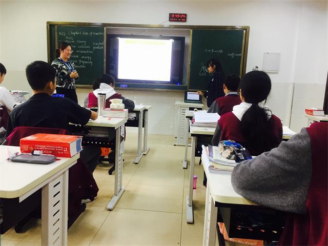 【国际高中】公开课教学搭平台 青年教师展风采