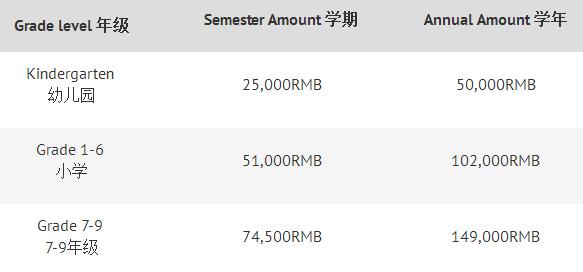 2018年中信山语湖双语(国际)学校招生简章